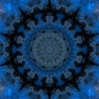 Blue Mandala — Stock Photo #34655469