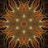 Autumn Mandala — Stock Photo