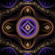 Purple julian fractal — Stock Photo #34962409