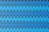 Blue Background with Waves — Stock Photo