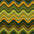Yellow and Green Waves — Stock Photo #35942935