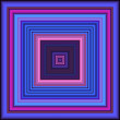 Blue and Fuchsia Squares — Stock Photo #36014435