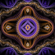 Purple julian fractal — Stock Photo #36115283