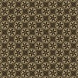 Brown Background with Floral Pattern — Stock Photo