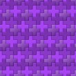 Purple Interlocking Crosses - seamless pattern — Stock Photo #36901231