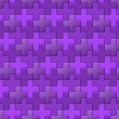 Purple Interlocking Crosses - seamless pattern — Foto Stock #36901231