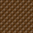 Seamless Brown Background with Diamond Pattern — Stock Photo
