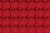 Seamless Heart Background — Stock Photo