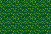 Sfondo verde scuro senza soluzione di continuità con triangoli verniciati — Foto Stock