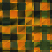 Yellow and Green Checkered Background - coarse textured — Stock Photo