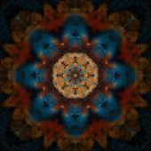 Oriental Mandala Flower — Stock Photo