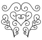 Flourishes of ornament vector — Stock Vector