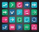 App-pfeilsymbol — Stockvektor