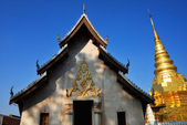 Temple with Pagoda — Stock Photo