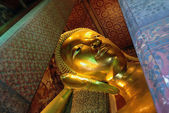 Buddha golden in temple — Stock Photo