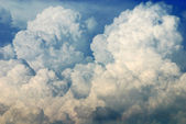 Nimbus in Cloudscape — Stock Photo