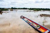 Imbarcazione locale — Foto Stock