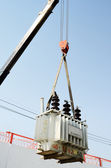 Distribution transformer — Stock Photo