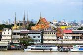 Urban screen at  Bangkok — Stock Photo