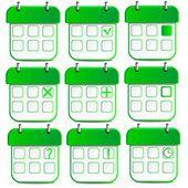 Kalender-symbol — Stockvektor