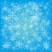 Uppsättning av snöflingor — Stockfoto