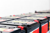 Serial attached batteries for uninterruptible power supply — Stock Photo