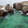 Постер, плакат: Rocks in the sea