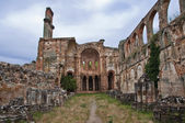 Monastery in ruins — Stock Photo