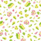 Cute seamless floral pattern — Stock Vector