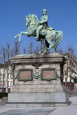 Rouen. Statue of Napoleoon Bonaparte — Stock Photo