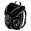Backpack — Stock Vector #37094859