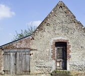 Old house in the North France — Stock Photo