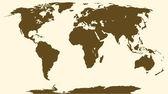 World map pop art — Stock Vector