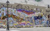 Graffiti i paris — Stockfoto