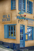 A grocery store to Saint-Valery-Sur-Somme, France — 图库照片