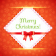 Постер, плакат: Merry Christmas Postcard Vector Illustration