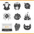 Halloween Vector Icons Set — Stock Vector #35860899