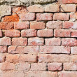 Detail of old brick wall background — Stock Photo