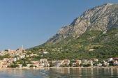 Village of Igrane with tower in Croatia — 图库照片