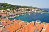 Town Korcula in island Korcula in Croatia — Stock fotografie