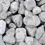 Background of small gray rocks — Stock Photo #35038579