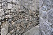 Texture of stone wall for background — Stock Photo