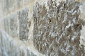 Texture of stone wall in perspective for background — Stock Photo