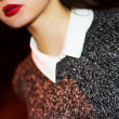 Sexy Lips. Beauty Red Lips Makeup — Stockfoto