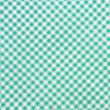 Stockfoto: Green plaid fabric as background