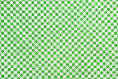 Green plaid fabric as background — Stock Photo