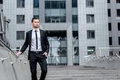 Succesvolle zakenman. — Stockfoto