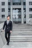 Successful businessman. — Stock Photo