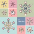 Set of snowflakes — Stock Vector #34754575