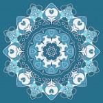 Ornamental round celtic pattern — Stock Vector